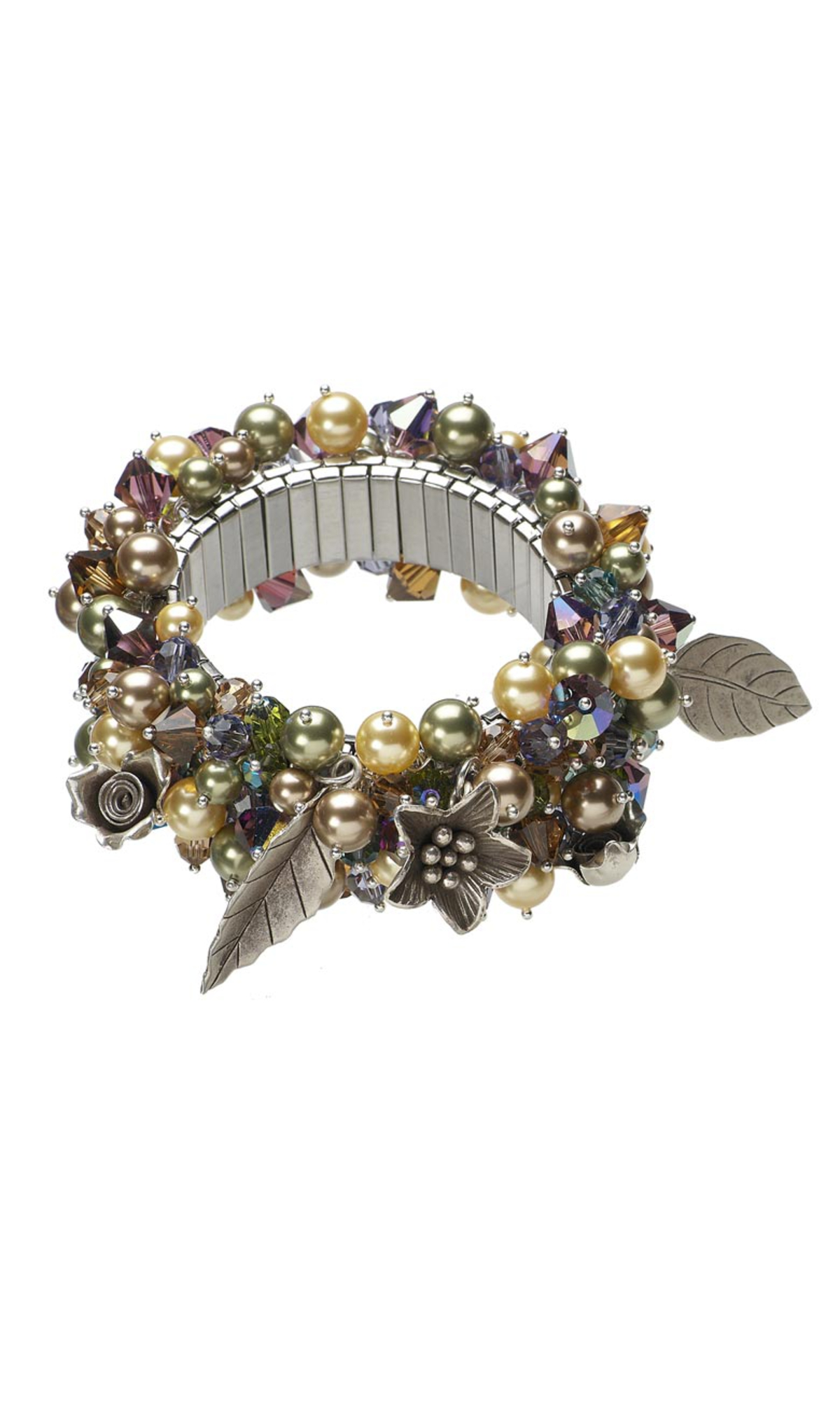 Jewelry Design ChaCha Bracelet with Swarovski Crystal Pearls and