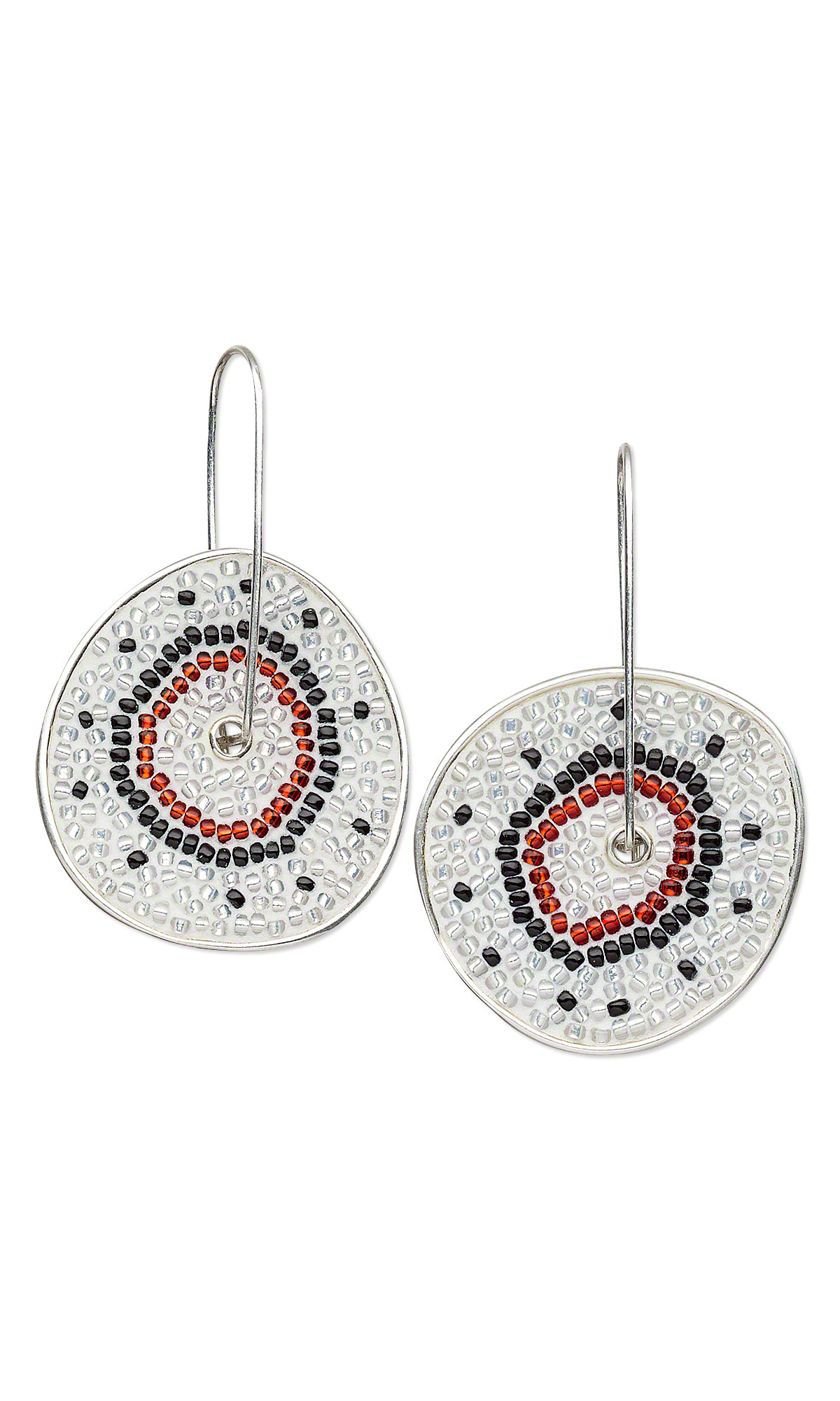 Jewelry Design - Earrings with Seed Beads, Devcon Jeweler\'s 2-ton ...