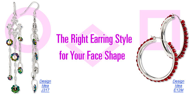 The Right Earring Style for Your Face Shape