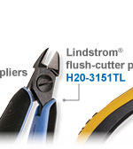 Lindstrom Flush-Cutter Pliers H20-3151TL