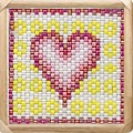 Bead-It-Forward Project 2009 Breast Cancer Quilt - Beaded Squares Quilt #6