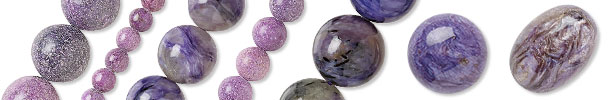 Charoite Beads and Components