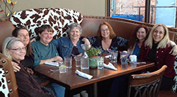 Fire Mountain Friends Gather with Pam at The Local Restaurant Roux 26.