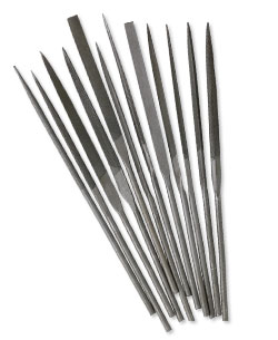 Item Number 2022TL Carbon Steel Needle Files