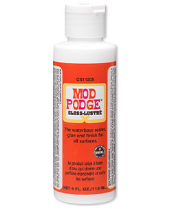 Item Number 4649BS Mod Podge Gloss-Lustré Sealer