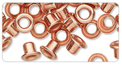 Item Number A2790FN Copper-Finished Brass Eyelets