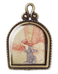 Tutorial creating an ice resin frame pendant fire mountain creating an ice resin frame pendant aloadofball Gallery