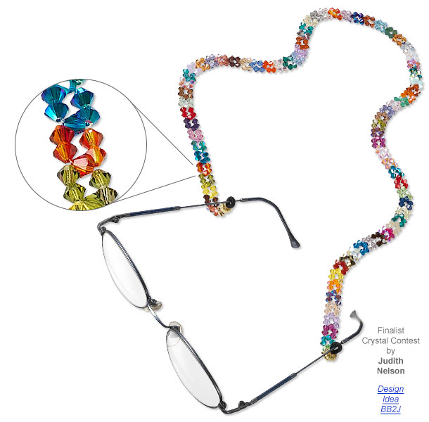 Customizing Eyeglasses with Jewelry-Making Products