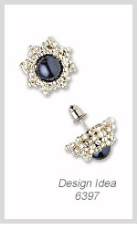Design Idea 6397 Earrings