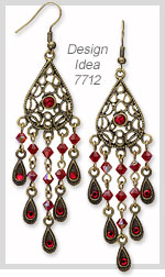 Design Idea 7712 Earrings