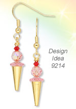 Design Idea 9214 Earrings