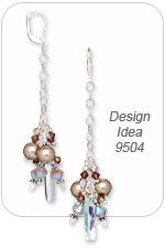 Design Idea 9504 Earrings