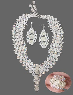 Design Idea 989D Necklace, Earring and Ring Set