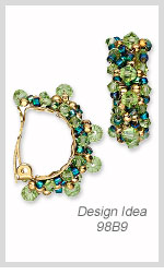 Design Idea 98B9 Earrings