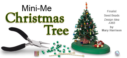 design idea a465 christmas tree - How To Make Miniature Christmas Decorations