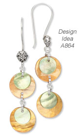 Design Idea A864 Earrings