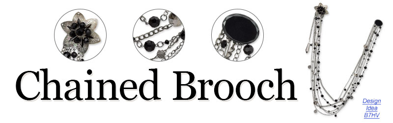 Design Idea B7HV Brooch