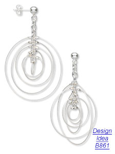 Design Idea B861 Earrings