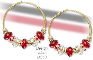 Design Idea BA58 Earrings