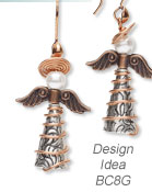Design Idea BC8G Earrings