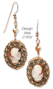 Design Idea C16W Necklace and Earrings