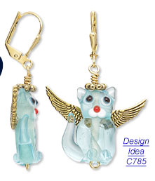 Design Idea C785 Earrings