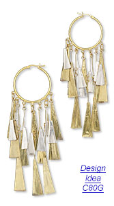 Design Idea C80G Earrings