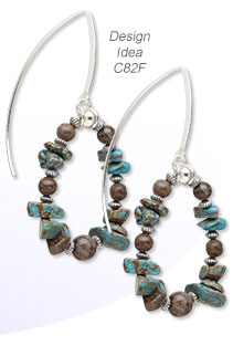 Design Idea C82F Necklace and Earrings