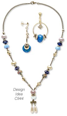 Design Idea C944 Necklace and Earrings