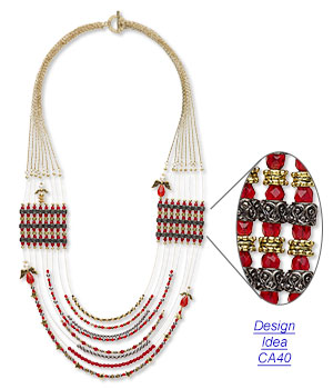 Design Idea CA40 Necklace and Earring