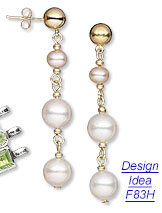 Design Idea F83H Necklace and Earring Set