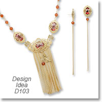 Design Ideas D103 Necklace and Earrings