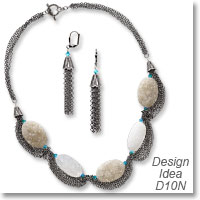 Design Ideas D10N Necklace and Earrings