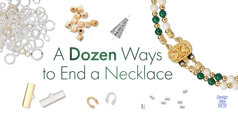 Types of necklace fasteners