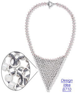 Design idea B710 Necklace and Earrings