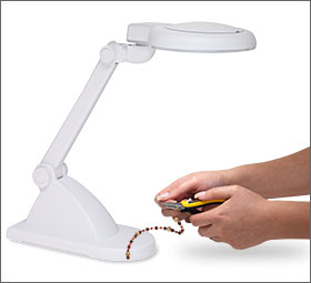 Naturalight™ Lamp with Magnifying Lens