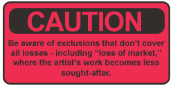 Caution Be Aware of Exclusions