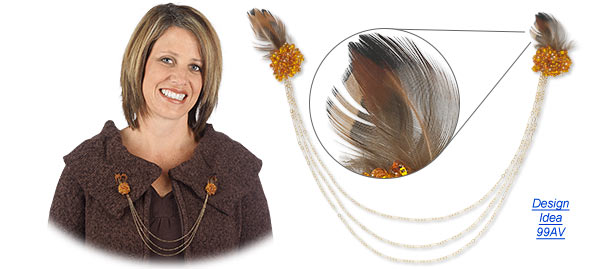 """Feathering"" Jewelry and Accessories"