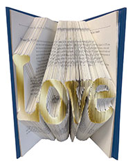 Love Book Sculpture