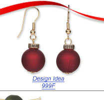 Fun, Festive and Easy Holiday Earrings