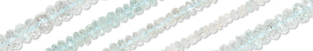 Goshenite Gemstone Beads