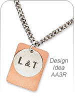 Hand-Stamped Jewelry Art