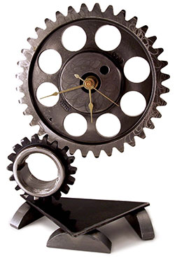 Clock Face and Gears