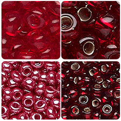 Red Czech Seed Beads