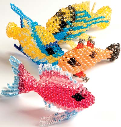 Home Décor Fish With Twin™ Seed Beads