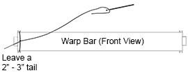 Warp Bar Front View