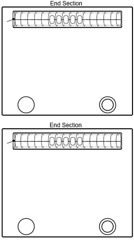 Insert Warp Bars Into End Sections