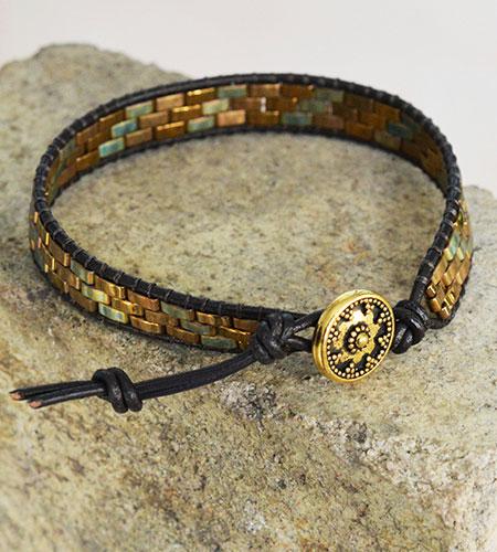 Half Tila Bracelet