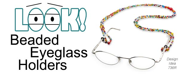 Look! Beaded Eyeglass Holders