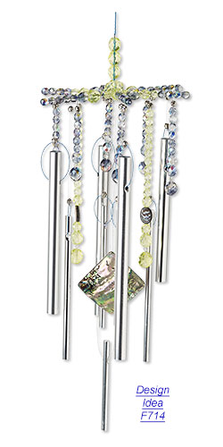 Make Your Own Wind Chimes with Jewelry Supplies